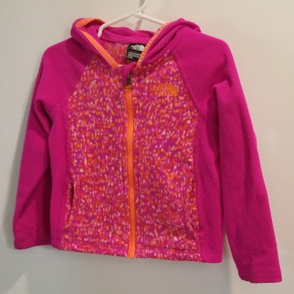 433171ca6 Toddler Glacier full zip hoodie North face 3t